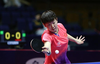 China's Sun Yingsha claims women's singles title at ITTF World Tour Platinum Japan Open