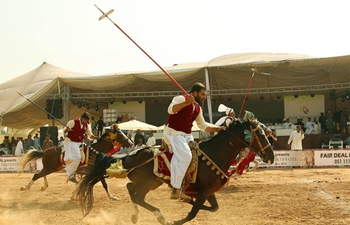 Tent pegging competition held in Islamabad, Pakistan