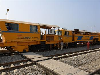 Chinese-built Benguela Railway handed over to Angola