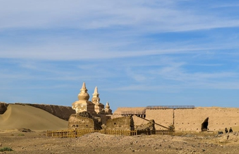 In pics: scenery of Heicheng relic site in China's Inner Mongolia