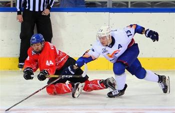 Silk Road Supreme Hockey League: Tsen Tou of China vs. Humo of Uzbekistan