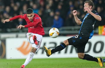 Europa League: Club Brugge vs. Manchester United