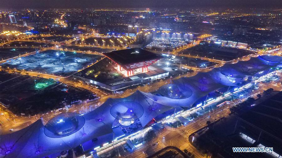 CHINA-SHANGHAI-NIGHT SCENERY (CN)