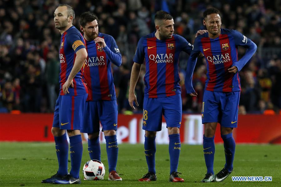 (SP)SPAIN-BARCELONA-SOCCER-KING'S CUP-BARCELONA VS ATHLETIC BILBAO