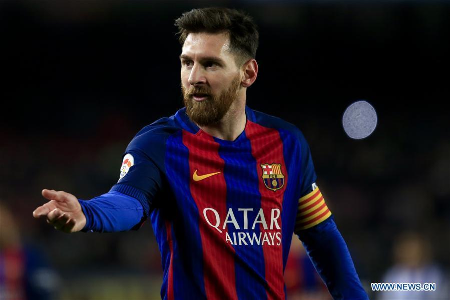 (SP)SPAIN-BARCELONA-SOCCER-KING-CUP-BARCELONA VS REAL SOCIEDAD