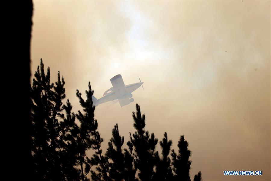 CHILE-ENVIRONMENT-FIRE