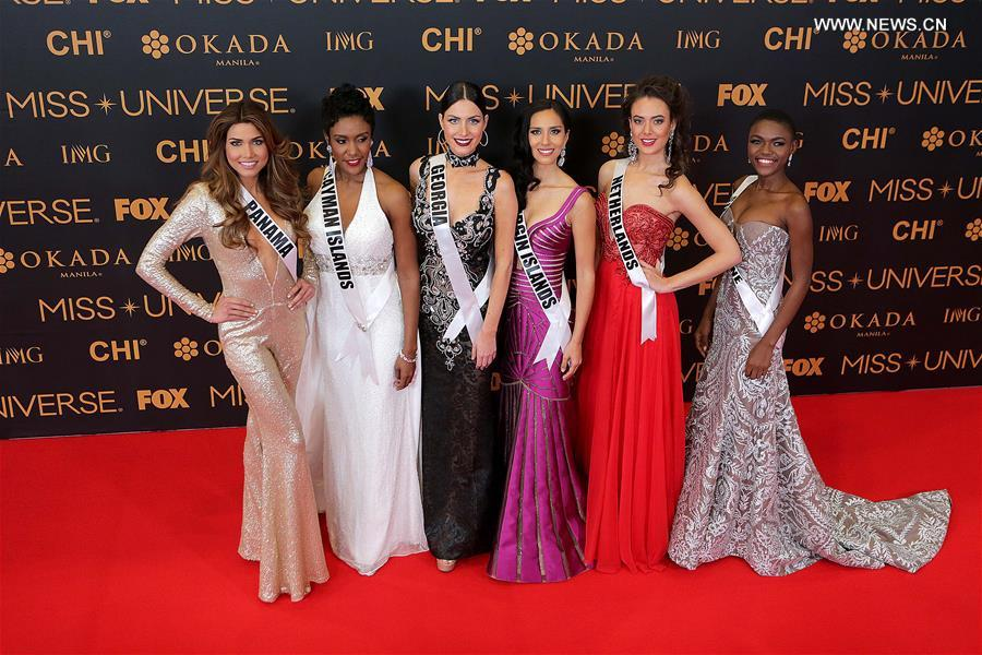 PHILIPPINES-PASAY CITY-MISS UNIVERSE-RED CARPET EVENT