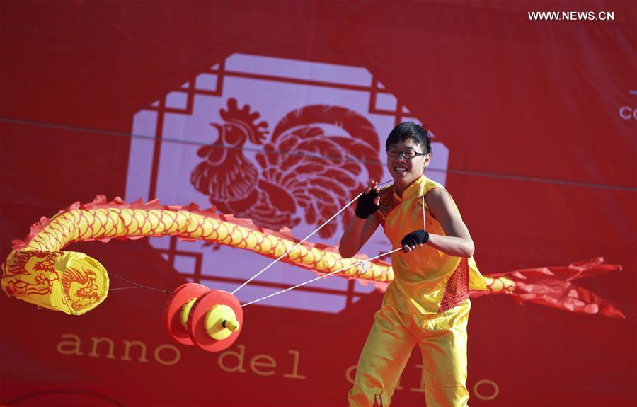 ITALY-NAPLES-CHINESE LUNAR NEW YEAR-PERFORMANCE