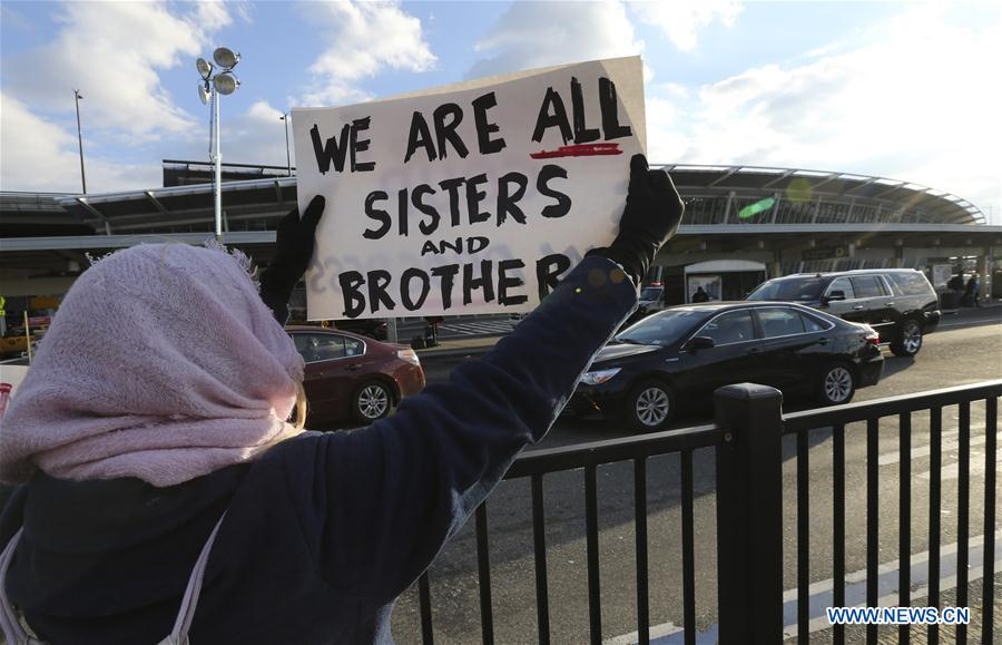U.S.-NEW YORK-TRUMP-PROTEST