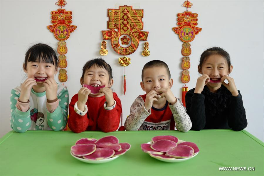 Lichun, the first of the 24 solar terms, fell on Feb. 3 this year. Chinese usually eat radishes or spring pancakes to celebrate the day.