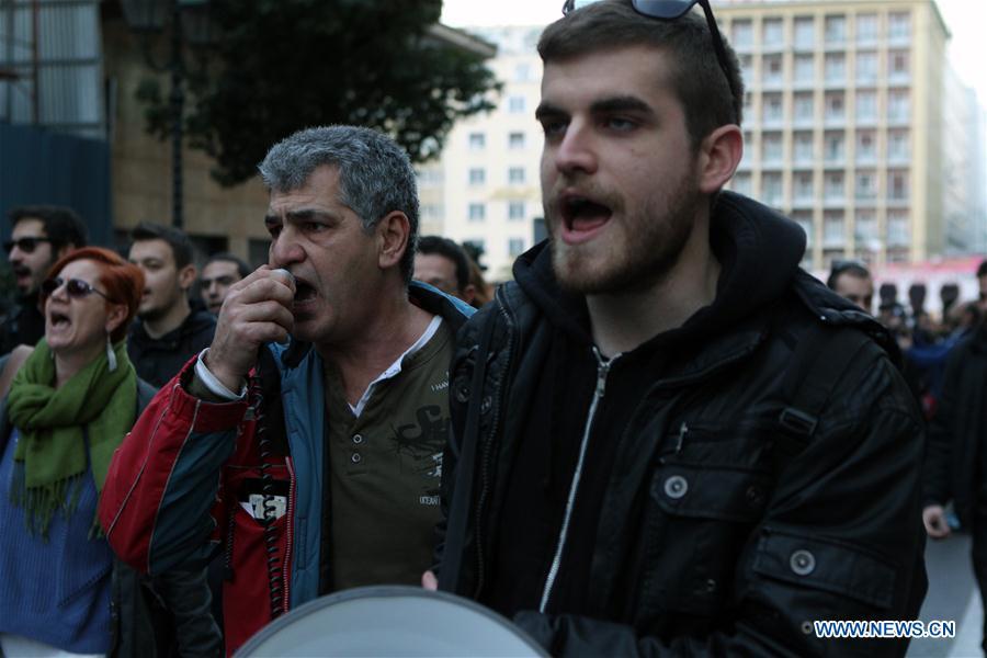 GREECE-ATHENS-POLITICS-REFUGEE