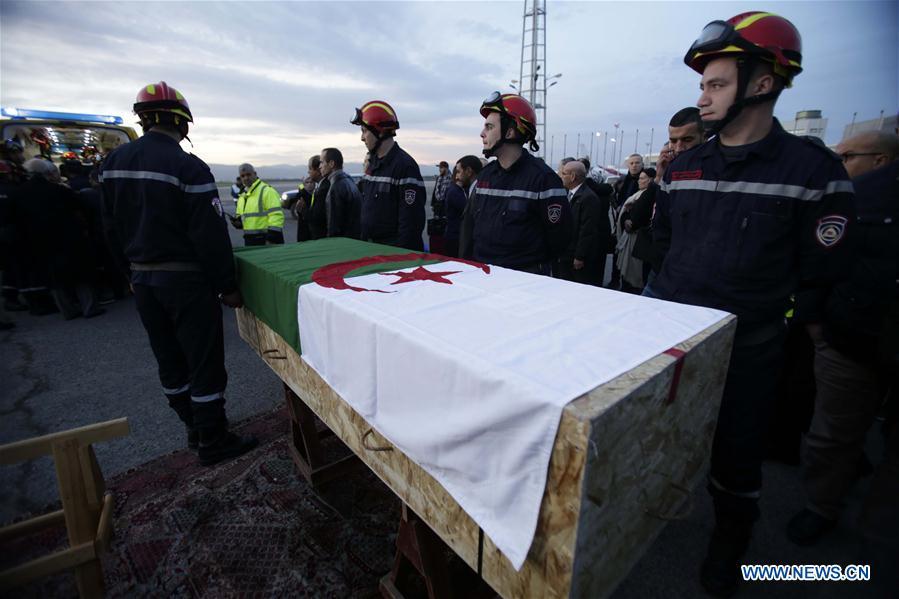 ALGERIA-ALGIERS-VICTIMS OF TERRORIST ATTACK-RETURN HOME