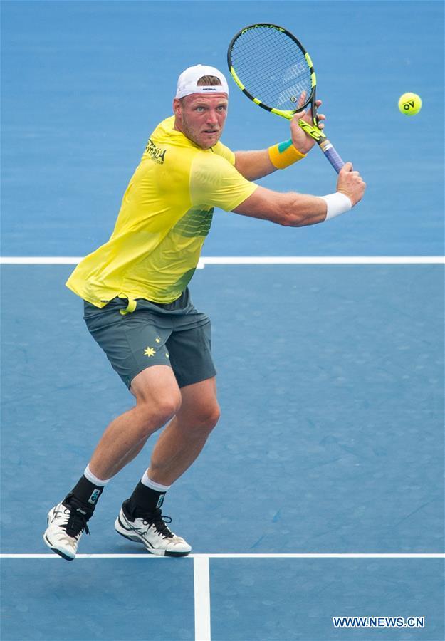 (SP)AUSTRALIA-MELBOURNE-TENNIS-DAVIS CUP-AUSTRALIA VS CZECH REPUBLIC