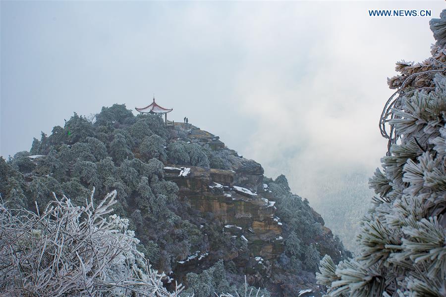 #CHINA-JIANGXI-LUSHAN MOUNTAIN-SNOWFALL (CN)
