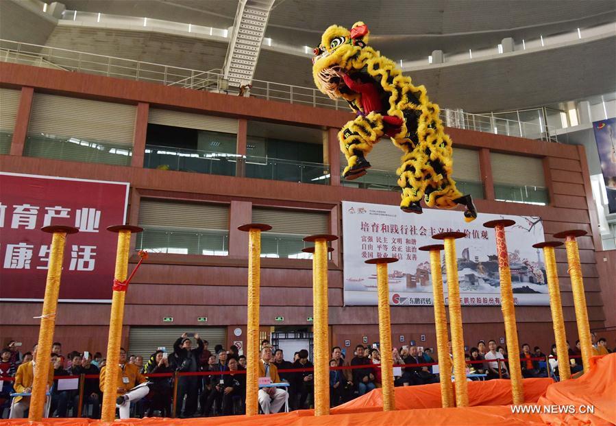 CHINA-GUANGDONG-FOSHAN-LION DANCE (CN)