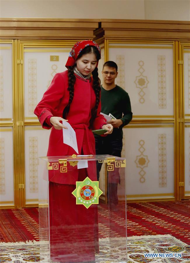 TURKMENISTAN-ELECTION-POLITICS