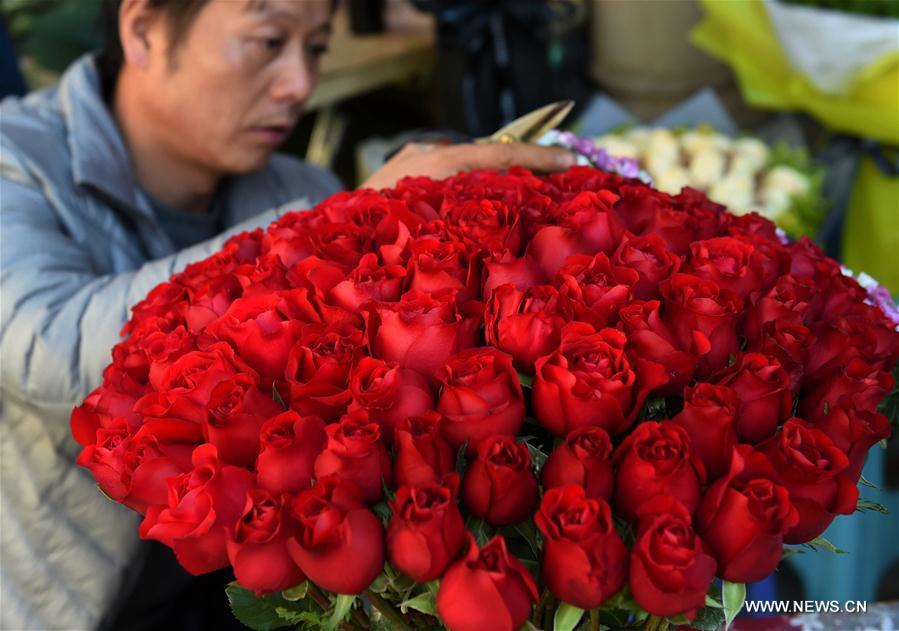 CHINA-KUNMING-FLOWER MARKET (CN)
