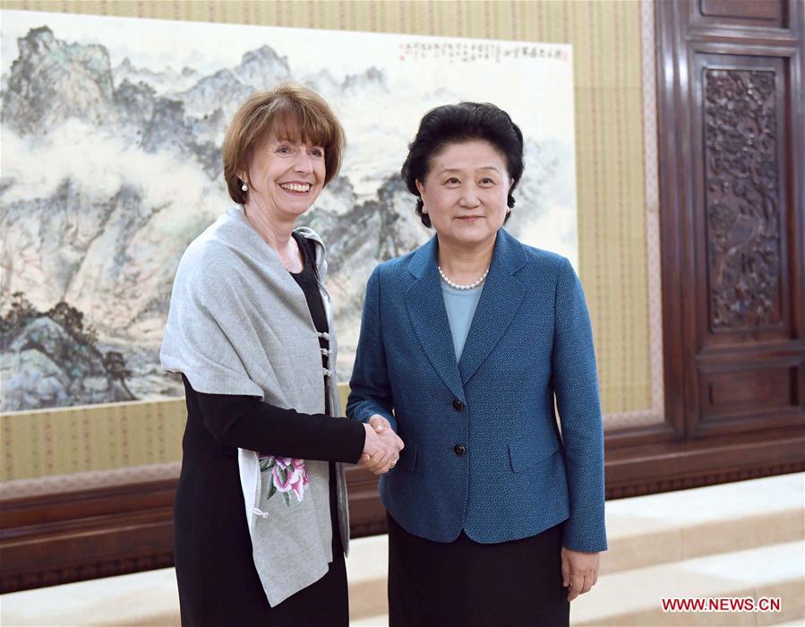 CHINA-BEIJING-LIU YANDONG-COLOGNE MAYOR-MEETING (CN)