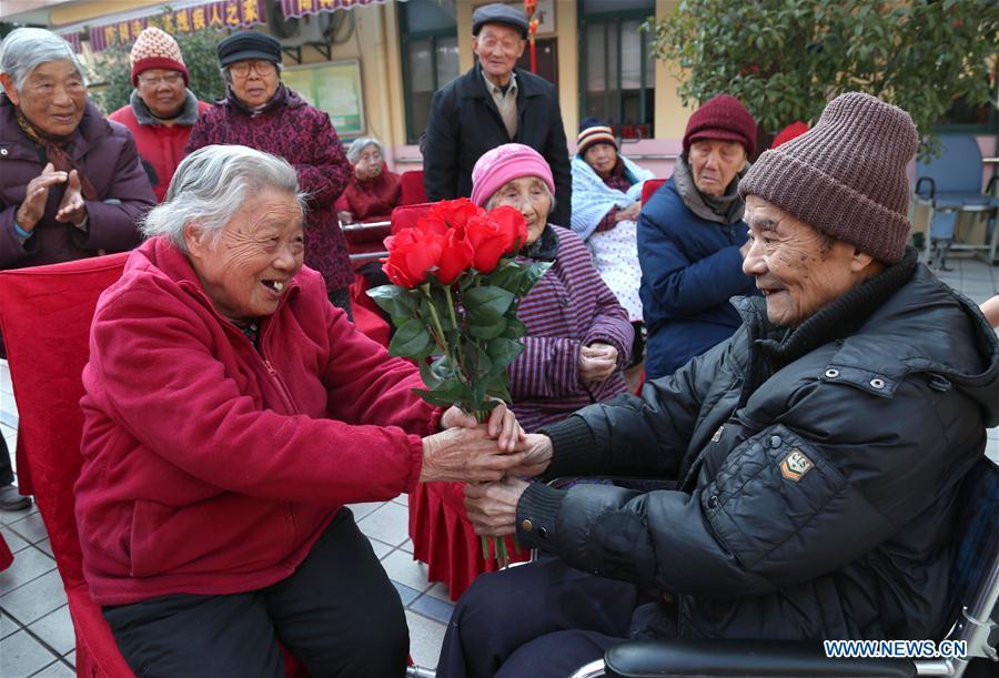 #CHINA-VALENTINE'S DAY-EXPRESSING LOVE (CN)