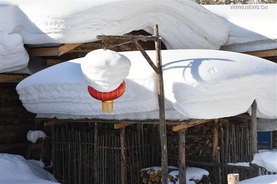 CHINA-HEILONGJIANG-MUDANJIANG-SNOW SCENERY (CN)