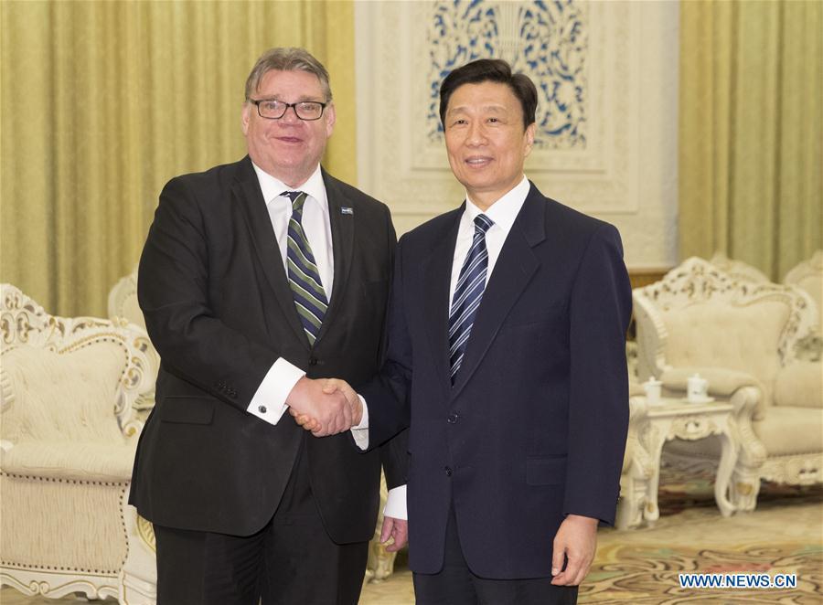 CHINA-BEIJING-LI YUANCHAO-TIMO SOINI-MEETING (CN)