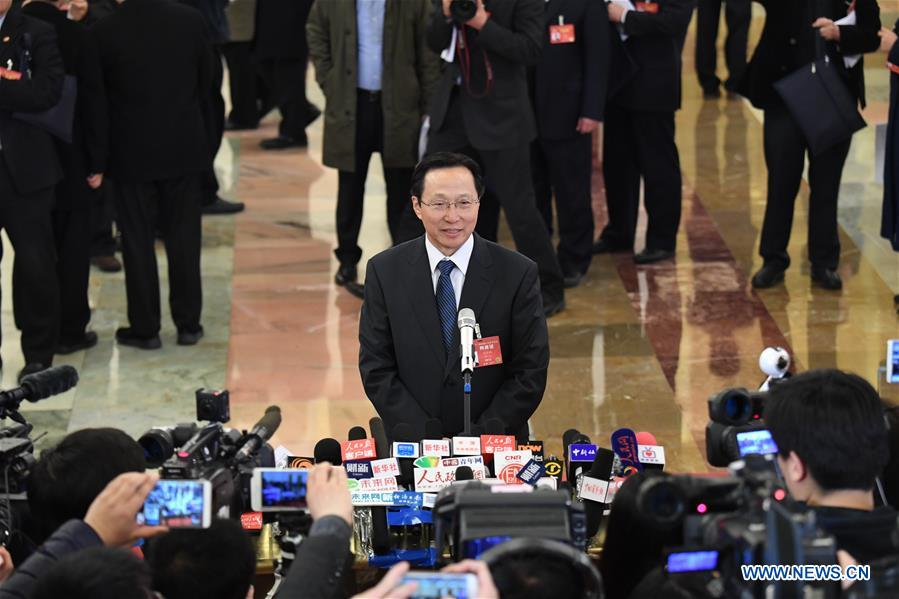 (TWO SESSIONS)CHINA-BEIJING-NPC-MINISTERS-INTERVIEW (CN)