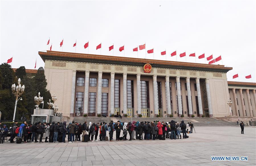 (TWO SESSIONS)CHINA-BEIJING-NPC-JOURNALIST (CN)
