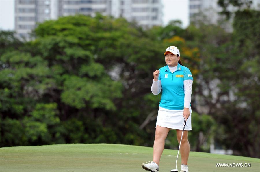 (SP)SINGAPORE-GOLF-HSBC WOMEN'S CHAMPIONS