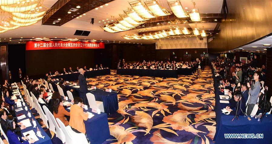 (TWO SESSIONS) CHINA-BEIJING-NPC-LIAONING DELEGATION-PLENARY MEETING-OPEN (CN)