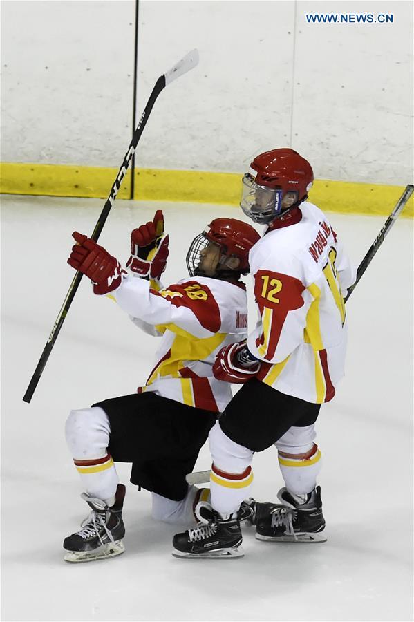 (SP)CHINA-TAIPEI-ICE HOCKEY-IIHF-U18 WORLD CHAMPIONSHIP-DIV III GROUP A-CHN VS TUR