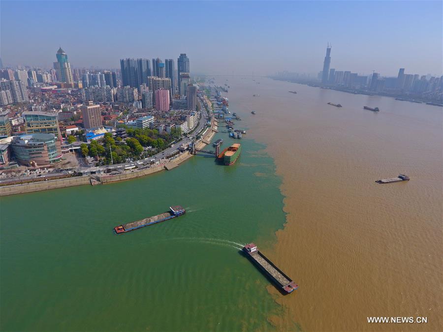 #CHINA-HUBEI-RIVERS-CONVERGING (CN)
