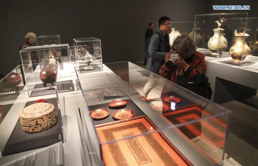 U.S.-NEW YORK-QIN AND HAN DYNASTIES-EXHIBITION