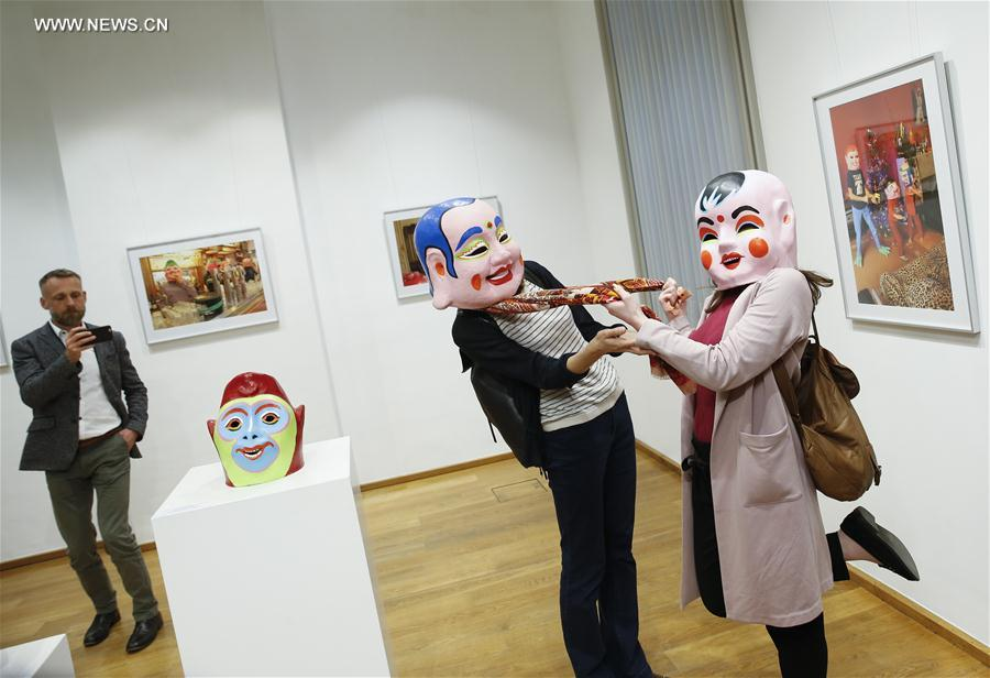 "BELGIUM-BRUSSELS-EXHIBITION-""CHINESE HAPPY HEADS IN BRUSSELS"""