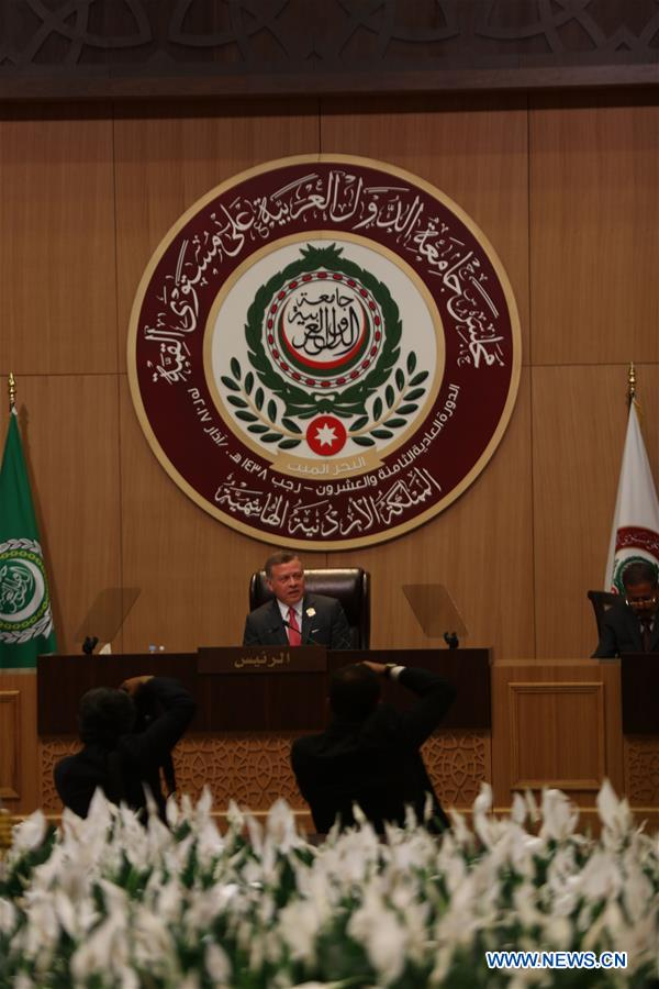 JORDAN-DEAD SEA-ARAB LEAGUE SUMMIT-OPENING