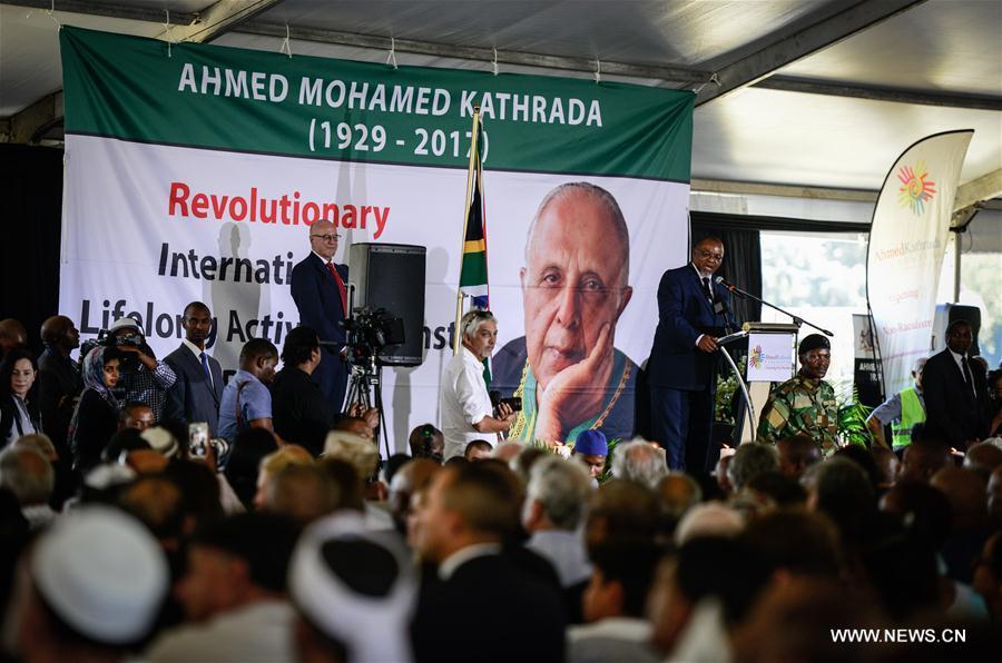 SOUTH AFRICA-JOHANNESBURG-AHMED KATHRADA-FUNERAL