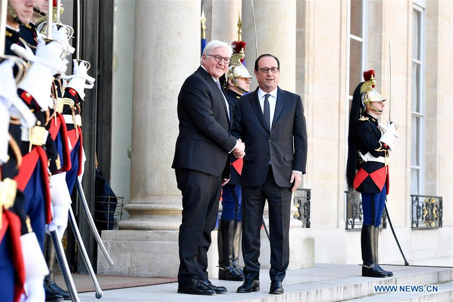 FRANCE-PARIS-GERMANY-PRESIDENT-VISIT