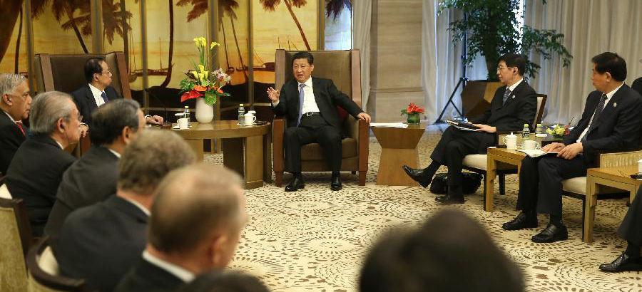 Xi meets members of BFA board of directors in Hainan