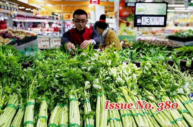 China consumer prices up 2.1 pct in October