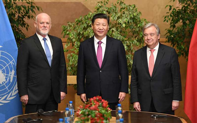 Xi urges UN to play central role in global governance