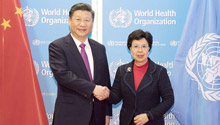 """China, WHO to build """"healthy"""" Silk Road"""