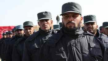 75 Afghan policemen graduate after eight-week training in Helmand