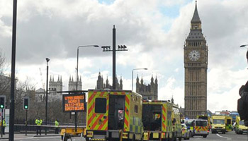 Four killed, at least 20 injured in London attack