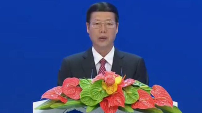 Zhang Gaoli addresses Boao Forum for Asia opening ceremony