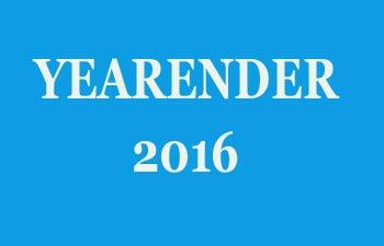 Yearender 2016