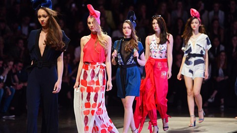 Creations presented at Mercedes Benz Fashion Week in Slovenia