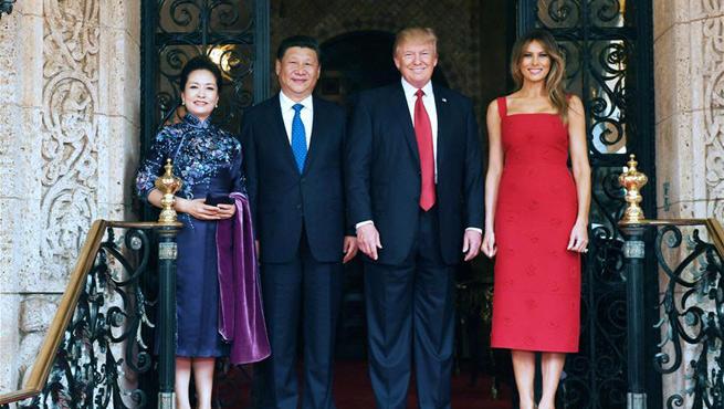 Xi Jinping, Donald Trump meet at Mar-a-Lago resort