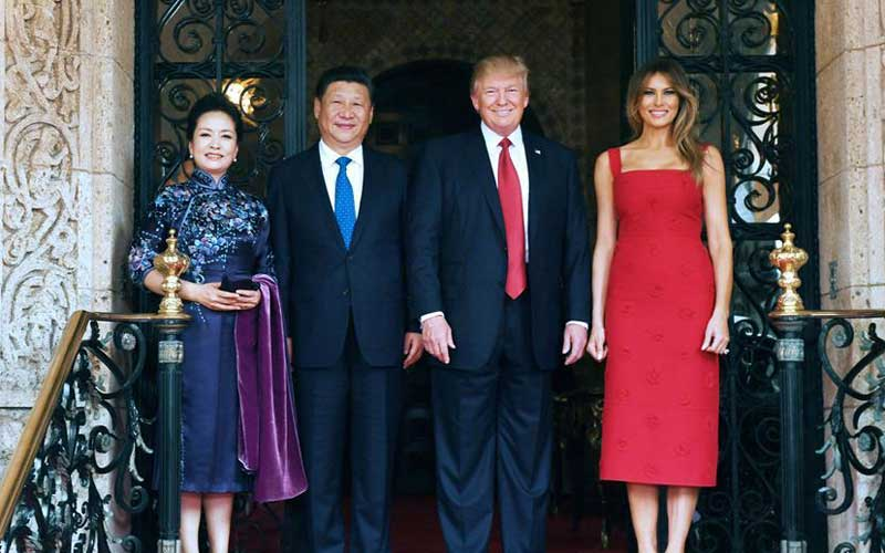 Xi, Trump engage in deep-going, friendly, long-time talks at Mar-a-Lago  resort