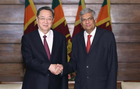 China, Sri Lanka vow to deepen cooperation to further develop strategic cooperative partnership