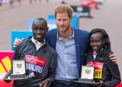 London Marathon concludes in Britain