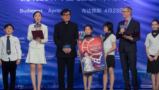 Chinese film festival starts in Budapest with movie star Jackie Chan
